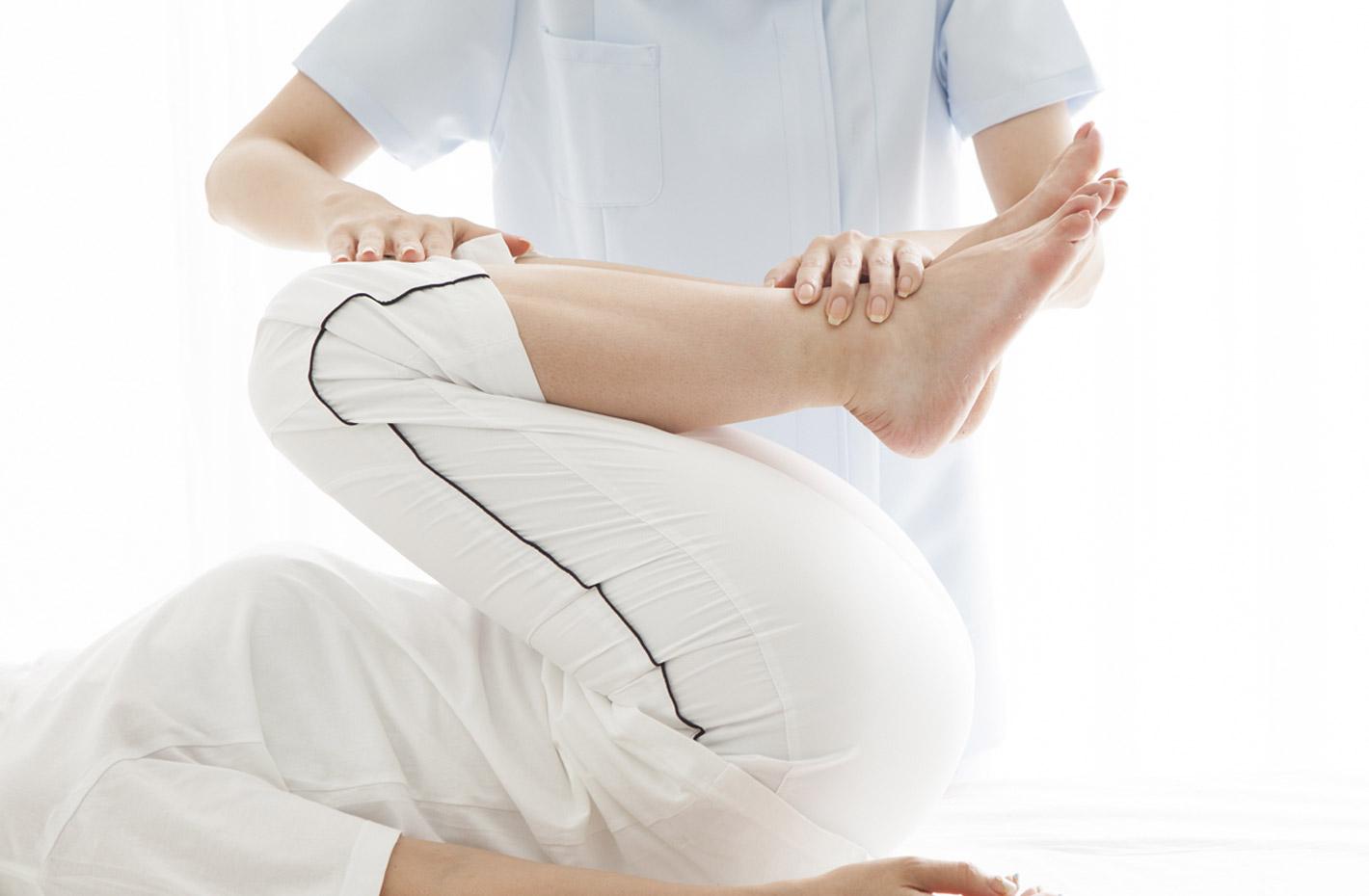リーバでは施設内に鍼灸院を併設。