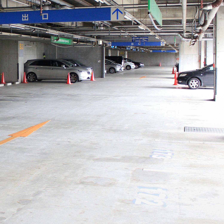 駐車場無料 スタジオご利用時間分